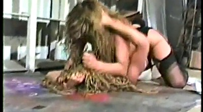 Spy, Catfight, Mature lesbian, Fight, Cat, Vintage mature