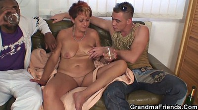 Grandma, Wife threesome, Old grandma, Grandmas