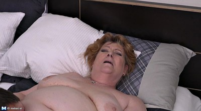 Fat, Blonde cougar, Fat pussy