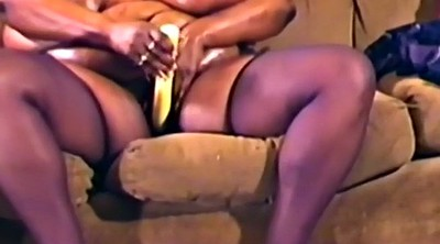 Oil, Black woman, Bbw solo