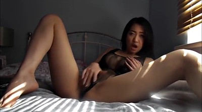 Riding dildo, Asian solo, Asian masturbate, Dildo ride