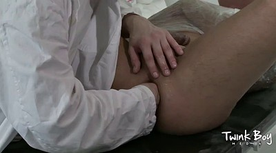 Bondage, Doctor, Gay big, Doctor anal