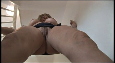 Girdle, Blonde mature, Mature girdle