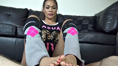 Footjob, Asian footjob, Asian feet, Pov asian