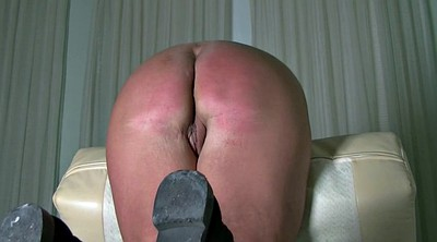 Spanked, Caning, Ass spanking, Waxing, Wax
