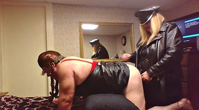 Cuckold, Leather, Mistress sissy, Take, Femdom sissy
