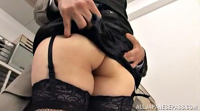 Hairy, Orgasm, Hairy masturbation, Ass lick, Hairy ass, Asian office