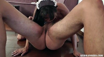 Hairy, Maid, Violated, Violate, Long hairy, Hot latina