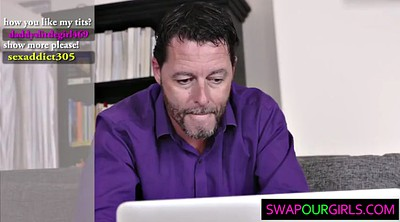 Swap, Old young, Stepfather, Stepdaughter, Swapping