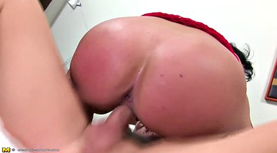 Anal creampie, Matures anal