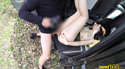Taxi, Car, Car blowjob