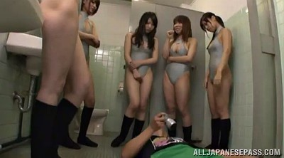 Group, Group asian, Asian fetish, Screaming, Asian peeing, Naturism