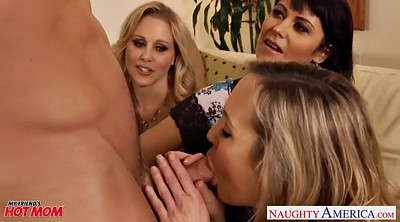 Julia ann, Celebrity, Brandi love, Julia ann mom, Mom threesome, Blowjob mom