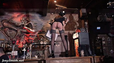 Jeny smith, Naked, Bar, Naked dance, Naked public, Group dance