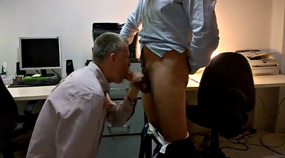 Office, Bj, Office gay, Gay office, Daddy office