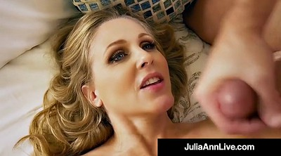 Mom, Julia ann, Big tits, Mom son, Step mom, Son mom
