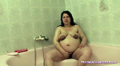 Pregnant, Shower, Bbw nipple, Gay nipple, Nipple play, Nipple gay