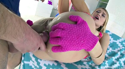 Gloves, Glove, Gaping anal