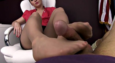 Nylon, Footjob, Pantyhose feet, Nylon feet