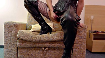 Latex, Boots, Leather anal, Latex anal, Hotel