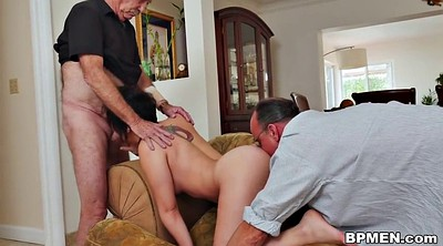 Gay men, Dream, Teen threesome, Old men