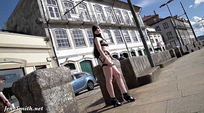 Public masturbation, Portugal, Jeny smith, Strap