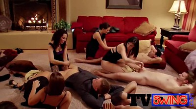 Swingers orgy, Casual