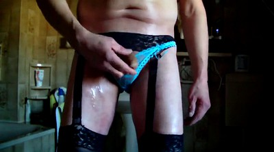 Nylon masturbation, Nylon cock, Amateur nylon