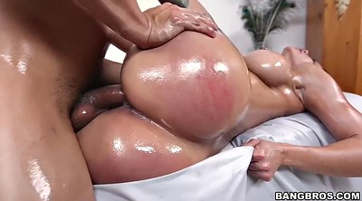 Spank, Oil massage, Riding, Spanked and fucked, Spank fuck, Curvy milf