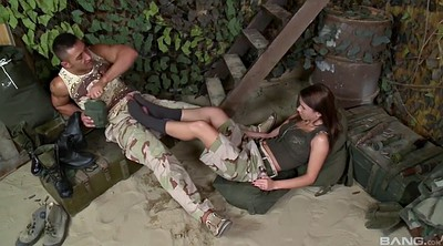 Footjob, Uniform, Army