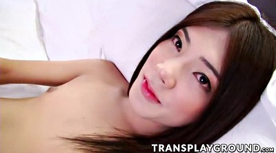Asian tranny, Asian shemale solo, Small shemale