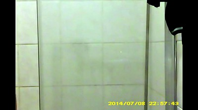 Sister friend, Hidden cam shower