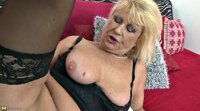 Mom son, Seduce, Mom seduce, Mature son, Granny young, Granny seducing