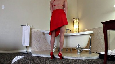 Dress, Red milf