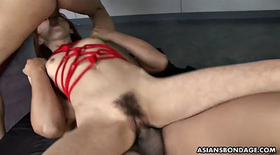 Peeing, Asian tied, Asian bondage, Tit tied, Tied up, Japanese bondage