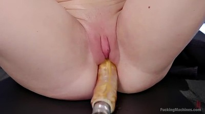 Machine, Fuck machine, Machine fucking, Thick blonde, Chubby solo