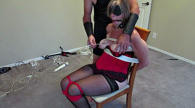 Tied, Tie, Mature wife