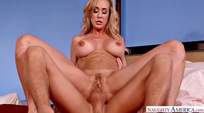 Brandi love, Old and young, Mature big tits