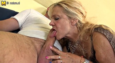 Old and young, Granny fuck, German mature