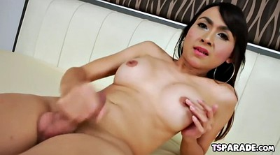 Shemale, Tranny solo, Asian tranny
