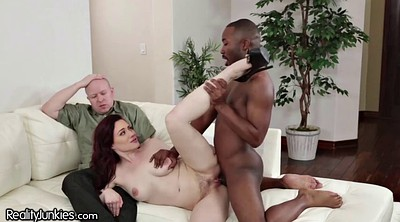 Husband, Hairy interracial, Cuckold bbc