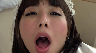 Maid, Japanese blowjob, Japanese maid