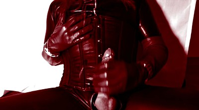 Leather, Boot, Latex shemale