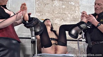 Dungeon, Feet slave, Foot slave, Torment, Bondage foot