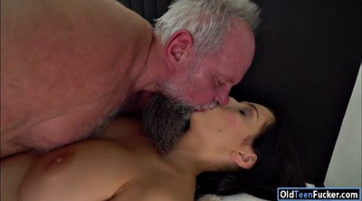Young, Grandpa, Melody, Licking orgasm