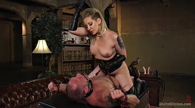 Leather, Boot, Brutal, Mistress, Riding boots, Mature handjob