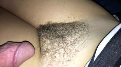 Rubbing, Cum panties, Cum on panty, Hairy panty, Hairy panties