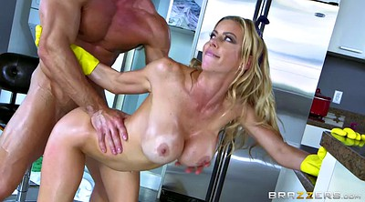 Alexis fawx, Kitchen, Blonde, Gloves, Milf kitchen