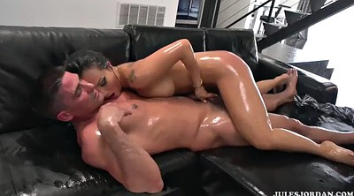Japanese massage, Asa akira, Interracial massage