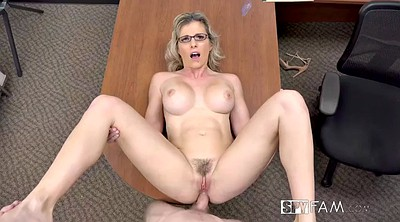Cory, Blonde cougar, Anal office